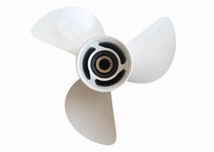 9 7/8 x 10 Factory Price 664-45945-00-EL Aluminum Outboard Propellers For Yamaha Motor 25HP-30HP