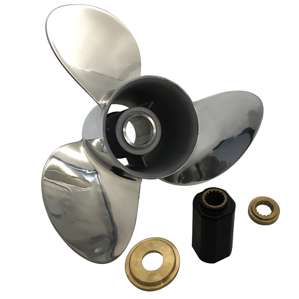 13 1/2 x 17 Stainless Steel Propeller for Mercury Mariner Outboard 48-821154A46
