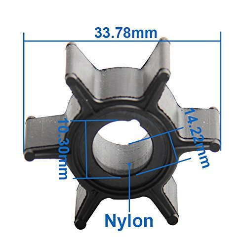 OEM Part No. 47-16154-3 Water Pump Impeller For Mercury